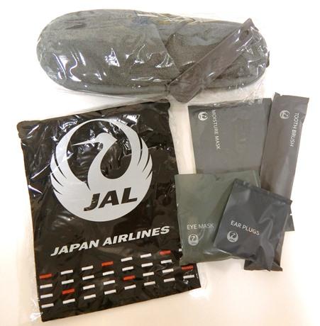 JAL日本航空ビジネスクラス アメニティ