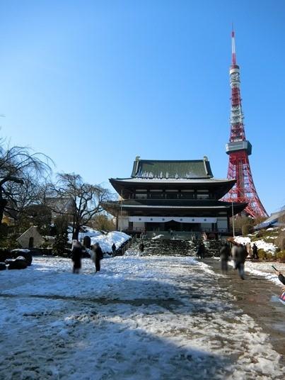 雪と東京タワー 2018