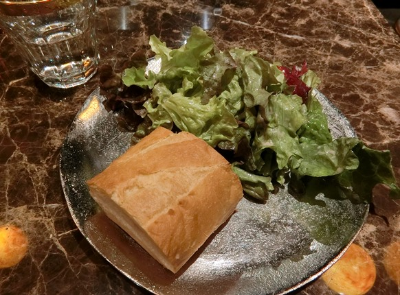 麻布十番「BISTRO CRESTA ビストロクレスタ」ランチサラダ