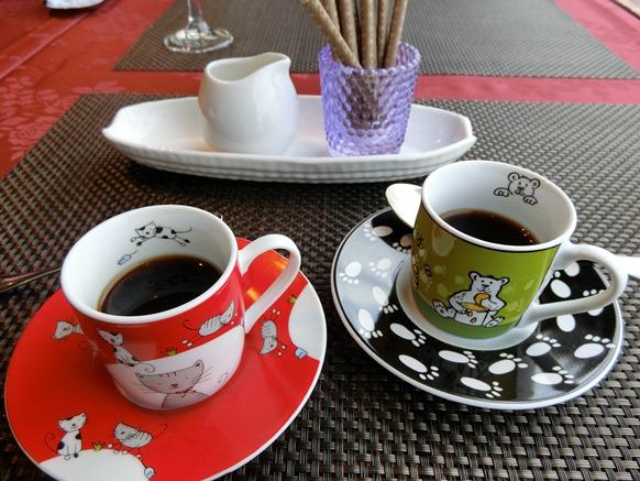 麻布十番 LE POT AUX ROSES ル ポトローズ コーヒー