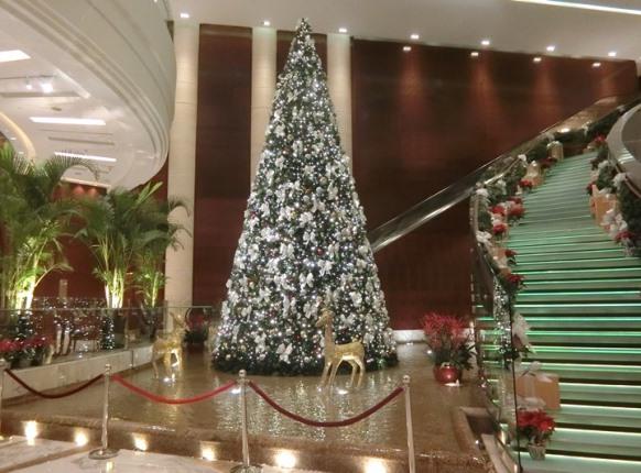 グランドハイアット クアラルンプール クリスマスツリー