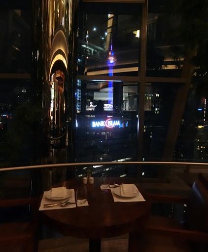 グランドハイアット クアラルンプール THIRTY8 KLタワー眺望