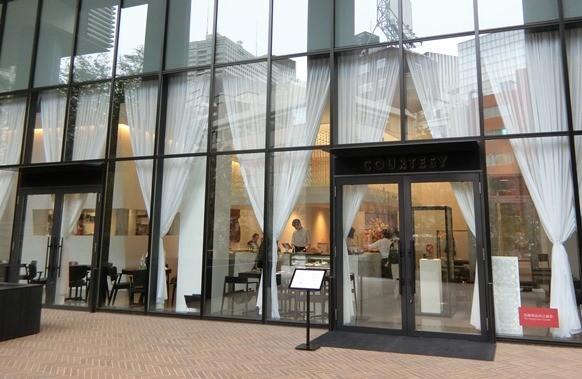 赤坂インターシティーAIR ベーカリーレストラン「COURTESY コーテシー」外観
