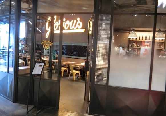 渋谷「Glorious Chain Cafe グロリアス チェーン カフェ」店内