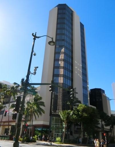 ハワイ ハイアットセントリックホテル外観
