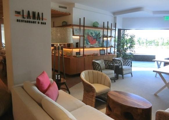 ハワイ ハイアットセントリックホテル LANAI ラナイ