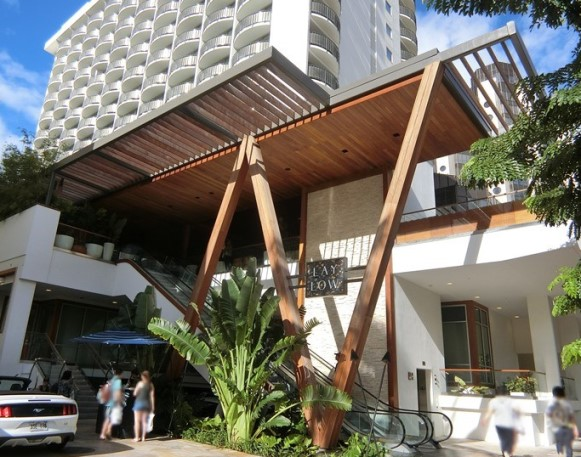 ハワイ The LAYLOW レイロウホテル 外観