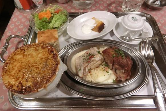 渋谷 CONCOMBRE コンコンブル 2種盛り合わせ スズキ 鴨もも肉