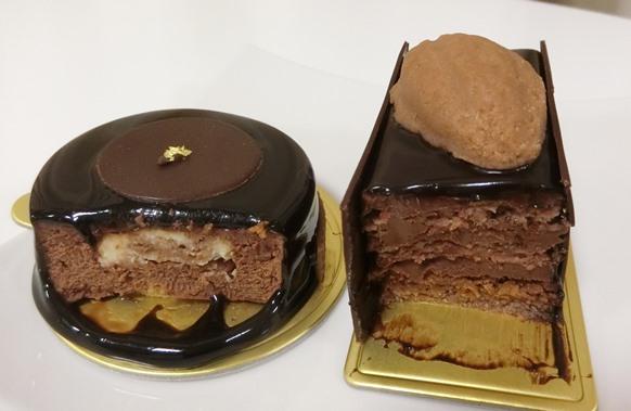 西武池袋「ATELIER de GODIVA アトリエ ドゥ ゴディバ 」ケーキ シンガトーショコラ中身
