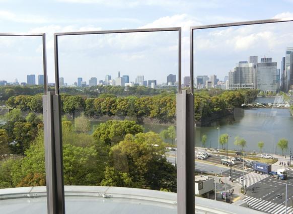 東京ミッドタウン日比谷 眺望 皇居