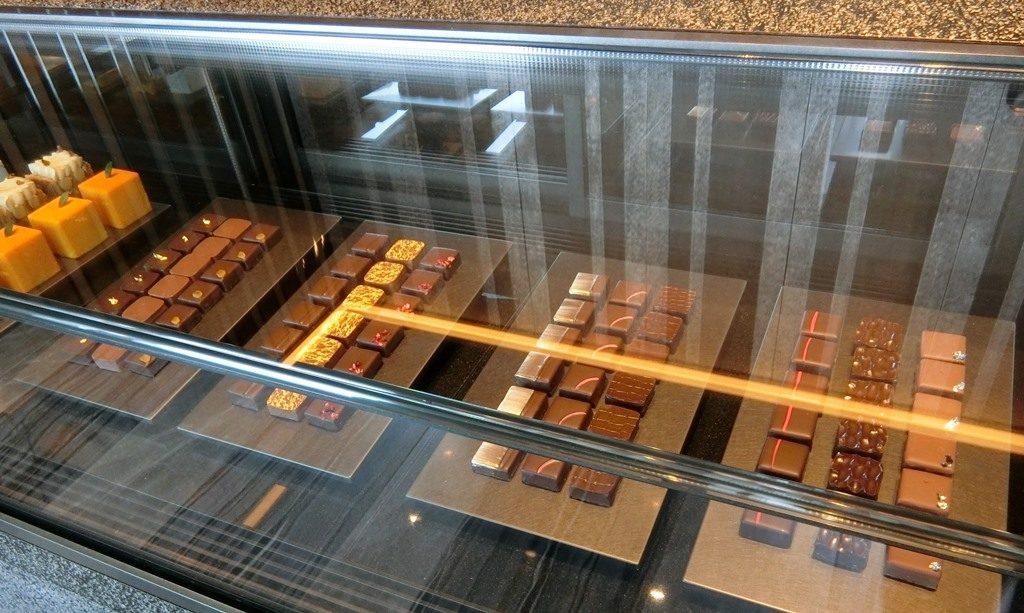 リッツカールトン東京 La boutique ラ・ブティック チョコレート ショーケース