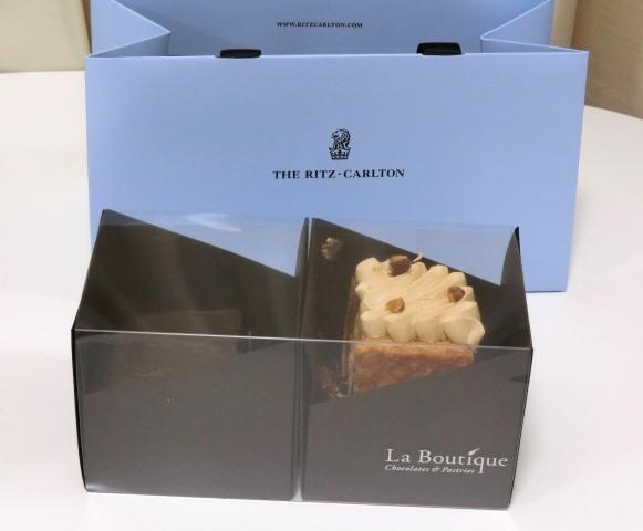 リッツカールトン東京 La boutique ラ・ブティック ケーキ ミルフィーユ