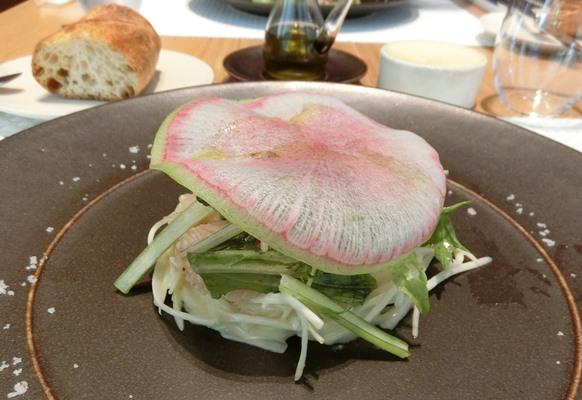 丸の内 mikuni ミクニ マルノウチ 東京野菜の旬づくし サラダ