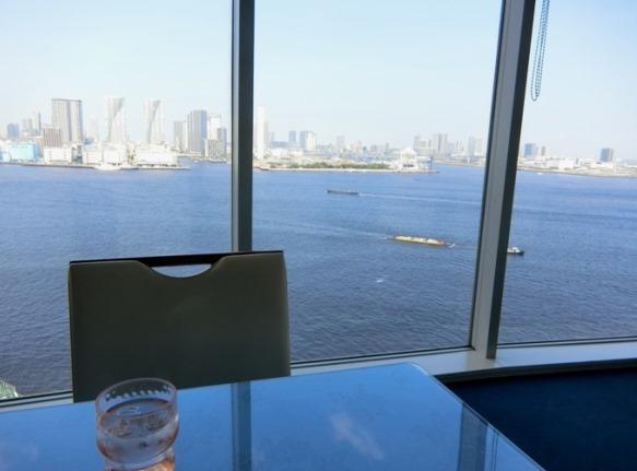 芝浦 OCEAN DISH Q'on オーシャン ディッシュ クオン 店内 眺望
