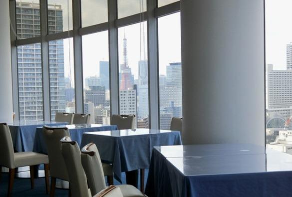 芝浦 OCEAN DISH Q'on オーシャン ディッシュ クオン 眺望 東京タワー
