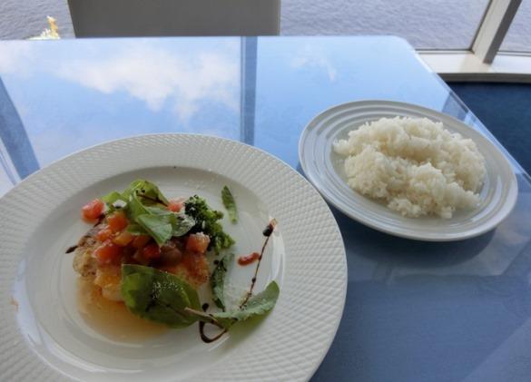 芝浦 OCEAN DISH Q'on オーシャン ディッシュ クオン ランチ魚料理